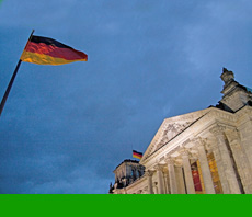 Der Reichstag - Sitz de Deutschen Bundestages und Symbol für ein Wiedervereinigtes Deutschland, Quelle: Benjamin Krauss