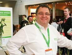 Wellness-Unternehmer Roland Fricke erlebt als Student den Fall der Berliner Mauer mit. Quelle: beauty24 GmbH