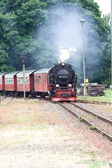 Durch den Harz und auf den Brocken: Die Dampflokz�ge der Harzer Schmalspurbahn (HSB), Quelle: Benjamin Krauss / beauty24