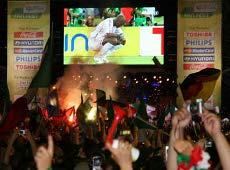 Das Fußballfieber geht wieder los: Seit dem 11.Juni 2010 läuft die WM in Südafrika. Quelle: beauty24 / Michael Steege