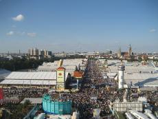 Das größte Volksfest der Welt: Die Wies'n bzw das Oktoberfest in München. Quelle: Jochen Hencke/beauty24