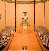 Wohltuende Wärme im Caldarium-Entspannung für alle Sinne / Quelle: beauty24 GmbH; Wellness-Hotel in Wörlitz/ Dessau