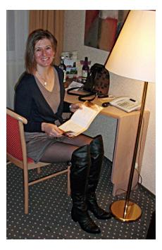 Gesa Grünewald hat ihr Wellness Wochenende in NRW richtig genossen. Quelle: beauty24