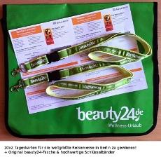Das Gewinnspiel zur ITB: 10x2 Freikarten, eine beauty24-Tasche und 2 Lanyards gibt es zu gewinnen! Quelle: beauty24