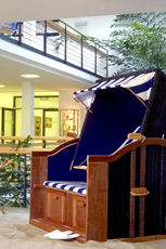 Im Hotel werden Sie vom typischen Ostsee-Flair entfangen - tauchen Sie ein in eine Welt voller Wellness und Entspannung. Quelle: Wellness in Dierhagen / Ostsee / beauty24 GmbH