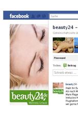 Werden Sie beauty24 facebook-Fan! Quelle: facebook.com / beauty24 GmbH