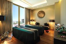 Im Behandlungsraum des Hotels genießen Sie Ihre Wunsch-Anwendungen. Quelle: Wellness an der Algarve / Portugal / beauty24 GmbH