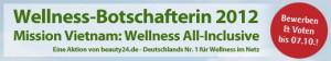 Erleben Sie als Wellness-BotschafterIn wohltuende Wellness-Wochenenden!!! Quelle: beauty24 GmbH
