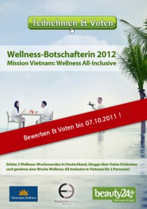 Bis 12 Uhr k�nnt ihr noch f�r die Wellness-BotschafterIn Bewerber abstimmen!!! Quelle: beauty24 GmbH
