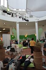beauty24 ist wieder mit neuen Aktionen auf der ITB 2012 in der Halle 16 vertreten! Quelle: beauty24 GmbH