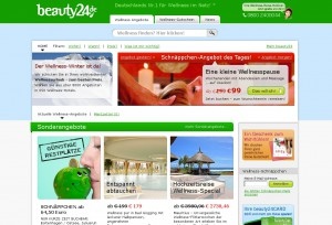 beauty24 Deutschlands Nr. 1 f�r Wellness im Netz / Quelle: beauty24 GmbH