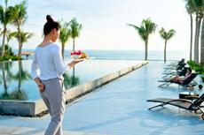 Frühstücken im Paraides: Wann und wo man möchte im 5-Sterne Resort! Quelle: beauty24 GmbH / FUSION MAIA Resort in Da Nang