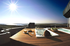 Outdoor-Wellness an der Nordsee erleben. Quelle: Wellnesshotel in St. Peter-Ording / beauty24 GmbH