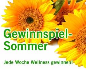 Jede Woche eine traumhafte Wellness-Reise gewinnen! Quelle: beauty24 GmbH