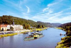 Genießen Sie Ihre persönliche Auszeit an der Elbe in Bad Schandau!