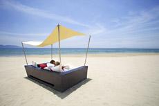 Ein Traumstrand und Luxus pur warten auf Sie in Vietnam! Quelle: FUSION MAIA Resort in Da Nang / beauty24 GmbH