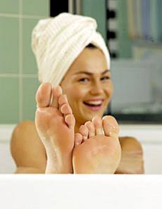 Genießen Sie das Gefühl von warmen Füßen!