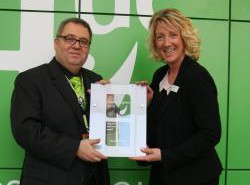 Wellness-Award 2013 Übergabe