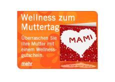 Verschenken Sie Wellness zum Muttertag!