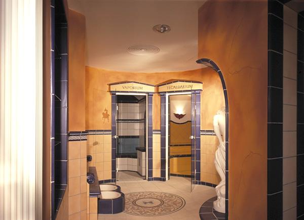 Saunalandschaft im Landhotel am Teterower See