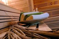 Finnische Sauna im Wohlfühlhotel