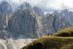 Mountainbiken in den Alpen