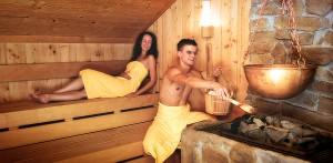 Saunagang im Wellnesshotel in Lichtenstein-Honau