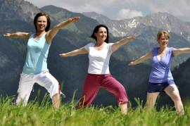 Auch Sport und Bewegung ist Wellness