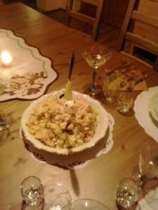 Traditioneller Kartoffelsalat aus Tschechien