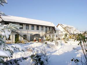 Winteridylle am Wellnesshotel Schwielochsee