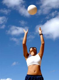 Beachvolleyball - Sport am Strand