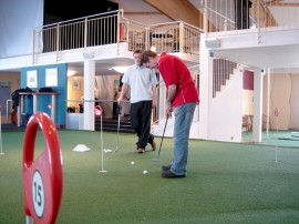 Das Indoorgolfcenter in der Lüneburger Heide