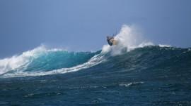 Wellen erhöhen den Spaßfaktor