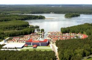 Die Mecklenburger Seenplatte von oben / Quelle: beauty24 - Wohlfühlhotel in Rheinsberg