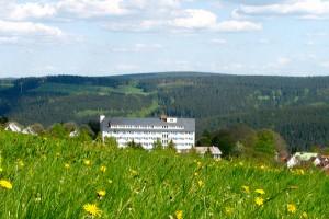 Blick auf den Thüringer Wald