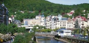 Die Ansicht Karlsbads