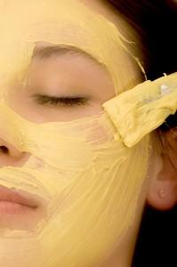 Masken verwöhnen die Haut