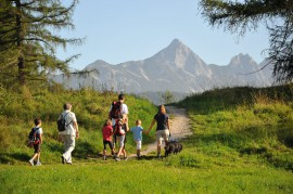 Wandern ist Sport für die ganze Familie