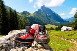 Gute Wanderschuhe sind Pflicht beim Bergwandern
