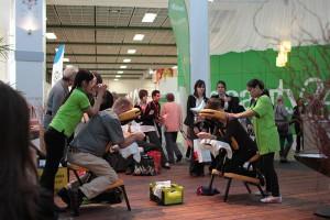 Schalten Sie ab, bei einer vitalisierenden Thai-Massage in Halle 16!