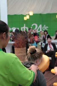 Entspannende Thai Massagen auf der ITB 2012