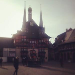 Rathaus in Wernigerode / Harz