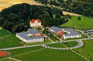 Das Hotel aus der Luft