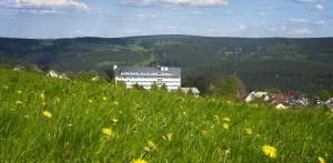 Mit Ausblick auf den wunderschönen Thüringer Wald
