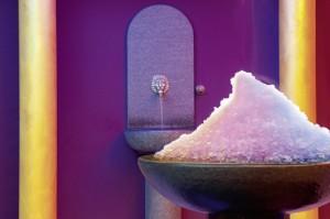 Eisbrunnen für eine schnelle Erfrischung