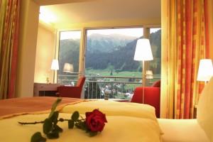 Panorama-Ausblick vom Hotelzimmer