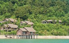 Blick auf die tropische Resort-Anlage. Quelle: Vedana Lagoon Resort & Spa, Vietnam / beauty24 GmbH