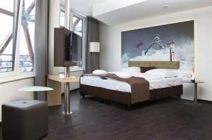 Doppelzimmer mit Ausblick auf auf das Sauerland