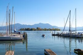 Blick auf das bayerische Meer