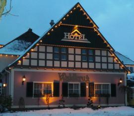Das Hotel im Winter